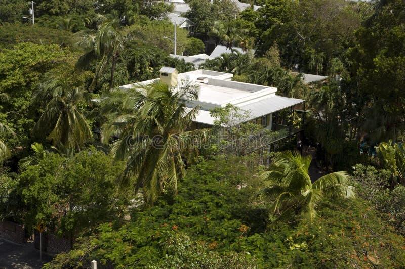 Het Huis Key West van Hemingway stock foto