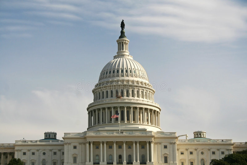 Het Huis van Afgevaardigden van Amerika stock afbeeldingen
