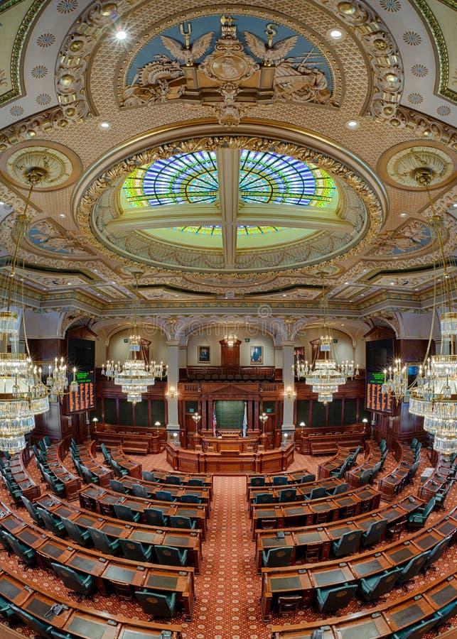 Het Huis van Afgevaardigdenkamer van Illinois stock afbeelding