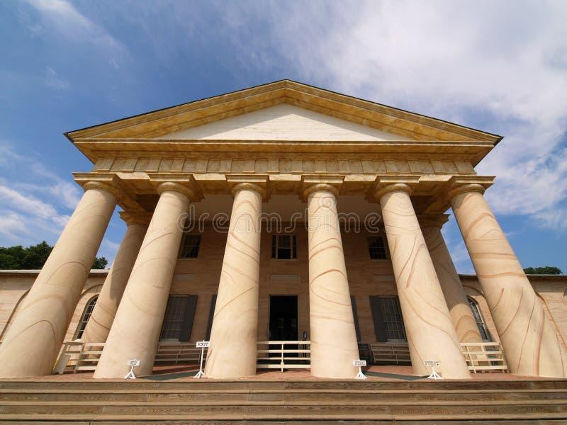 Het Huis van Arlington stock afbeeldingen