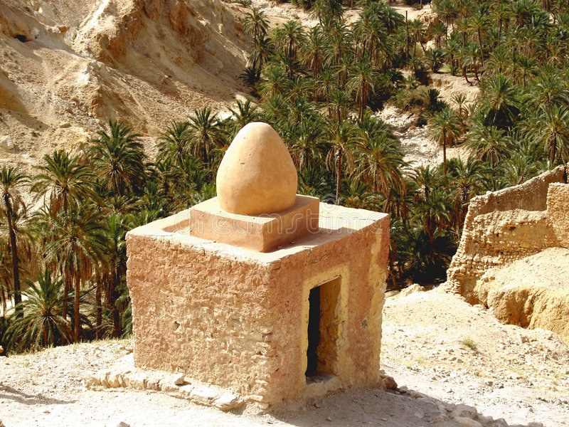 Het huis van Berber royalty-vrije stock fotografie