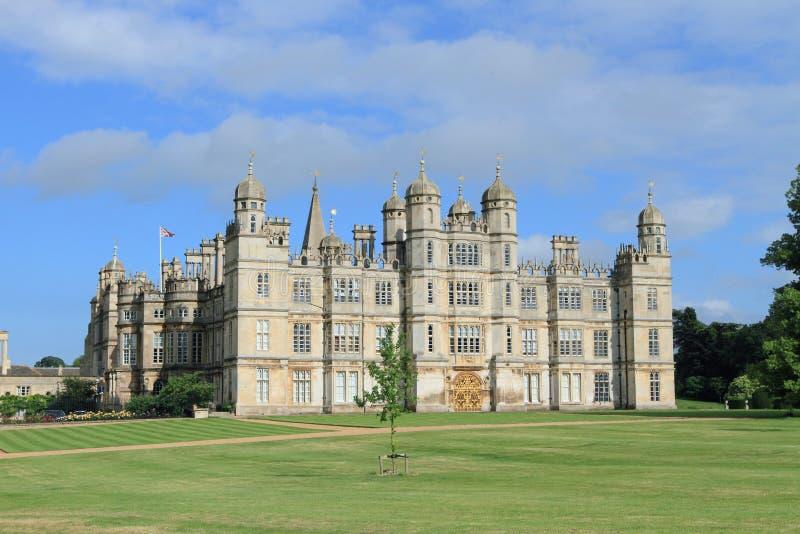 Het Huis van Burghley, Engeland stock foto's