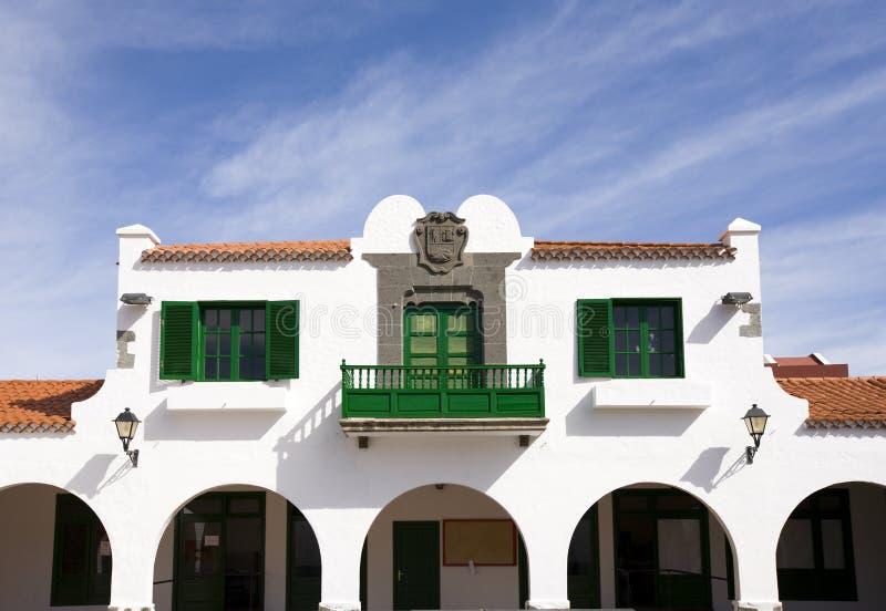 Het huis van Canarische Eilanden royalty-vrije stock afbeeldingen