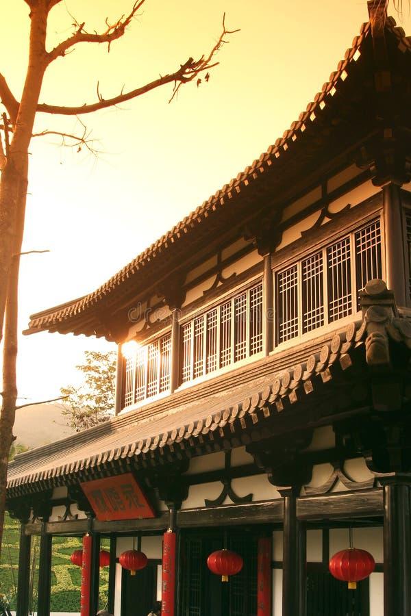 Het huis van China stock afbeeldingen