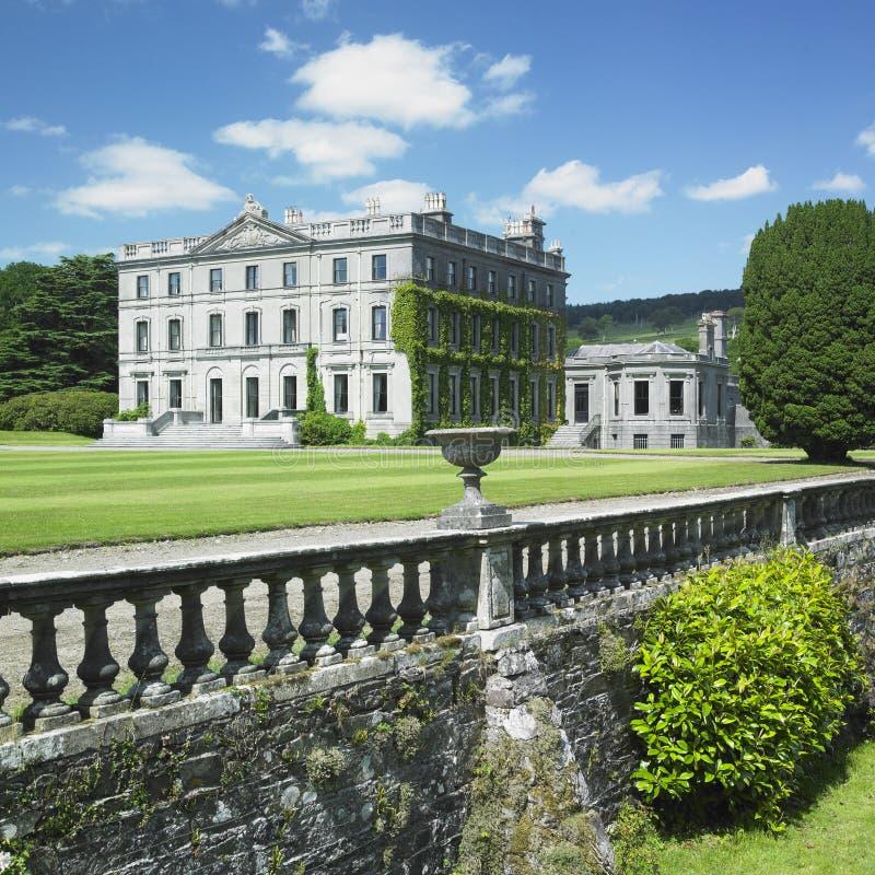 Het Huis van Curraghmore royalty-vrije stock afbeeldingen
