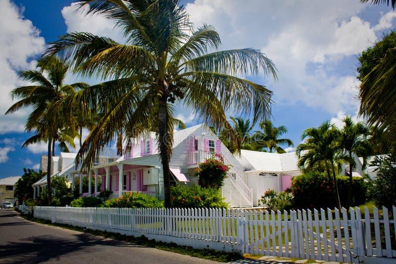 Het huis van de Bahamas royalty-vrije stock foto