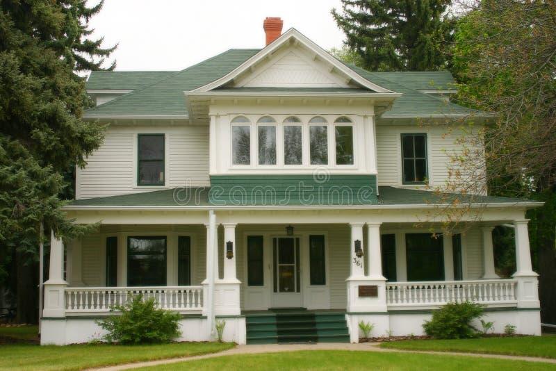 Het huis van de binnenstad stock foto