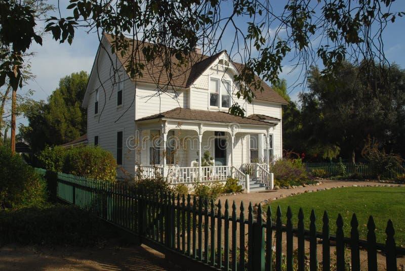 Het huis van de boerderij royalty-vrije stock foto