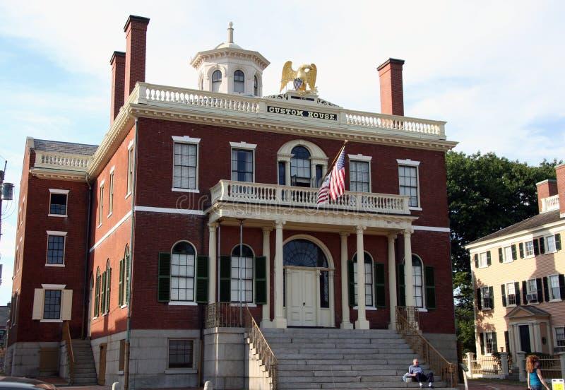 Het Huis van de Douane van de doctorandus in de letteren van Salem royalty-vrije stock afbeelding