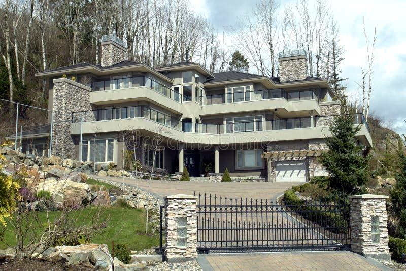 Het Huis van de droom stock afbeelding