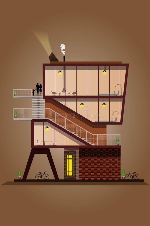 Het huis van de Droom vector illustratie
