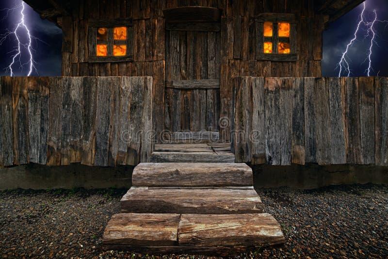 Het Huis van de heks vector illustratie