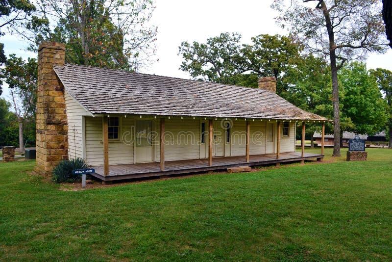 Het Huis van de het Parknieuwe dag van de Staat van het prairiebosje royalty-vrije stock foto