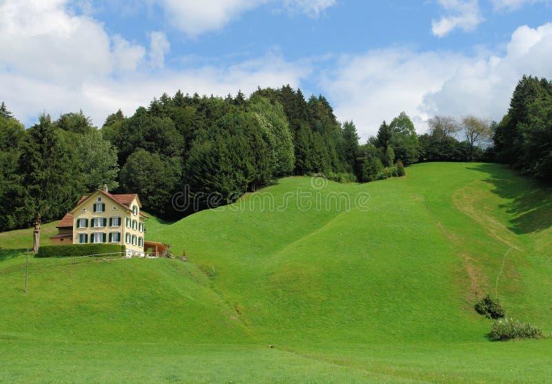 Het Huis van de heuvel royalty-vrije stock afbeeldingen