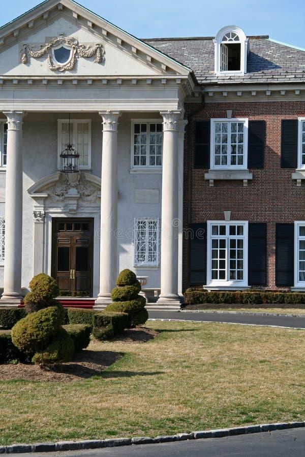 Het Huis van de luxe royalty-vrije stock foto