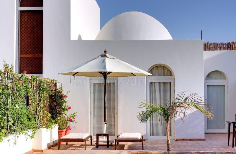 Het huis van de luxe. royalty-vrije stock afbeelding