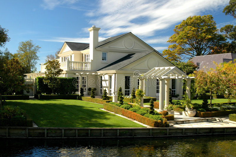 Het Huis van de luxe royalty-vrije stock afbeeldingen