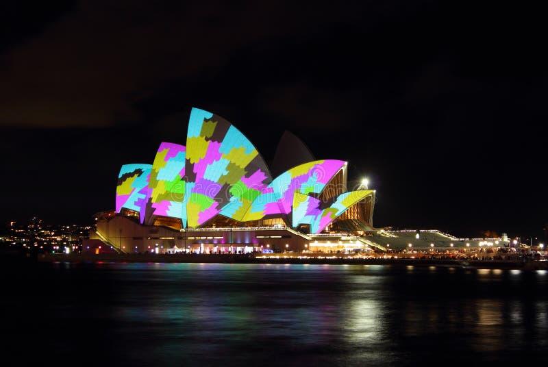Het Huis van de opera stock foto's