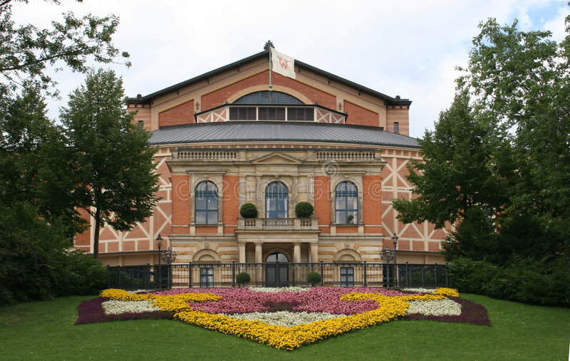 Het huis van de opera royalty-vrije stock afbeelding