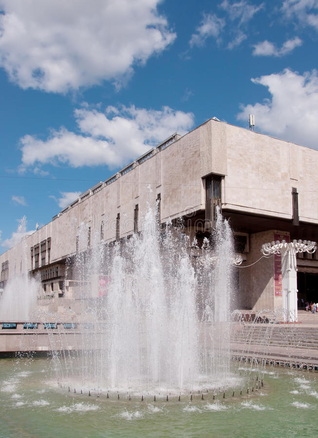 Het huis van de opera, Kharkov, de Oekraïne stock afbeelding