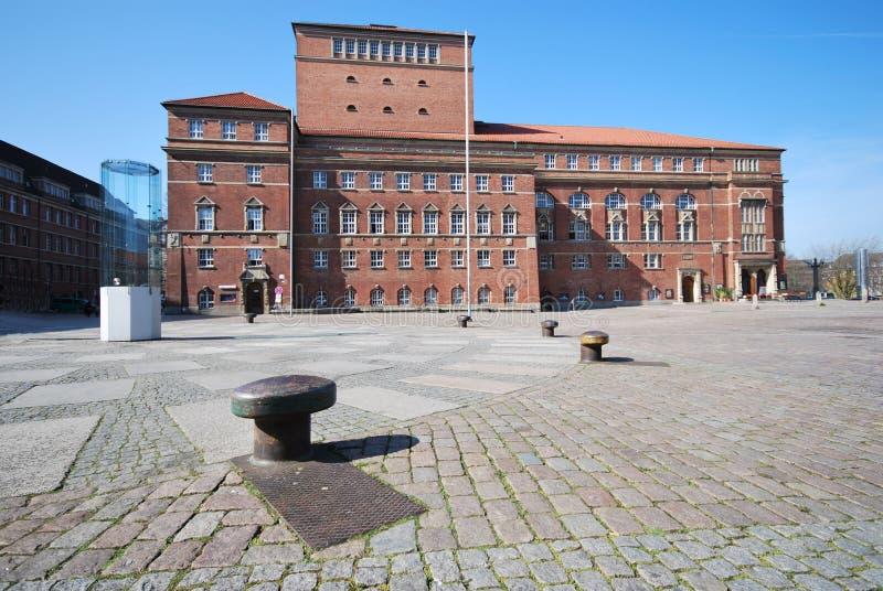 Het huis van de opera in Kiel royalty-vrije stock foto