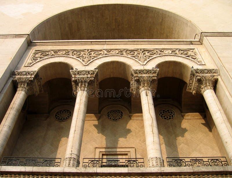 Het huis van de opera, Timisoara Roemenië royalty-vrije stock afbeeldingen