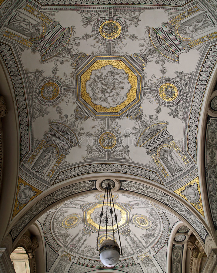 Het huis van de Opera van Boedapest royalty-vrije stock fotografie