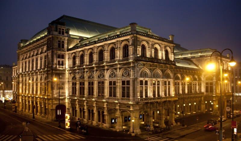 De opera van Wenen stock foto