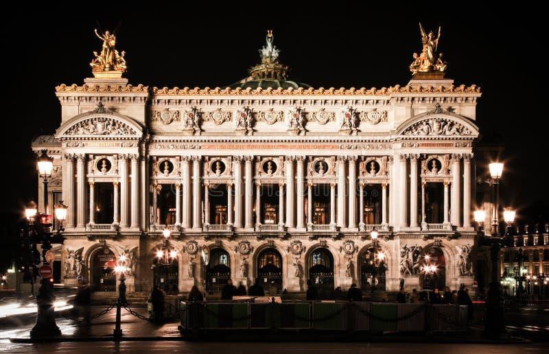 Het Huis van de Opera van Parijs stock foto's