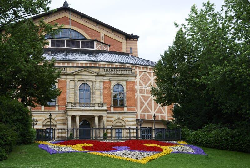Het huis van de Opera van Wagner van Richard royalty-vrije stock foto