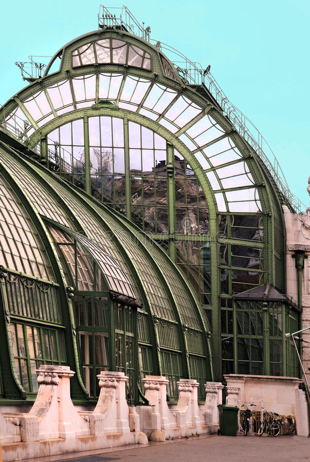 Het huis van de palm royalty-vrije stock afbeelding