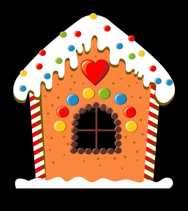 Het huis van de peperkoek vector illustratie