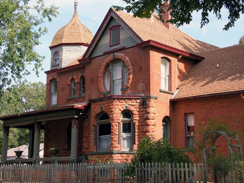 Het Huis van de peperkoek stock afbeeldingen