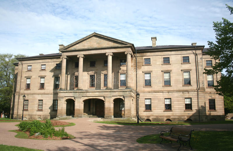 Het Huis van de provincie stock foto's