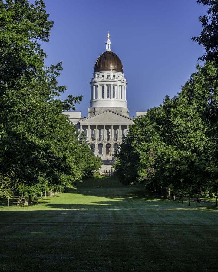 Het Huis van de Staat van Maine stock foto