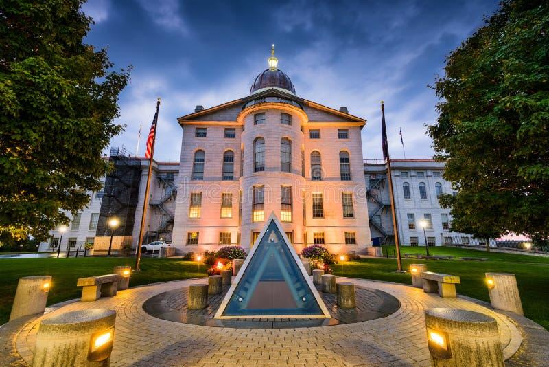 Het Huis van de Staat van Maine stock afbeeldingen