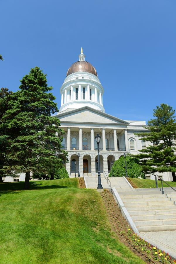 Het Huis van de Staat van Maine, Augusta stock afbeeldingen