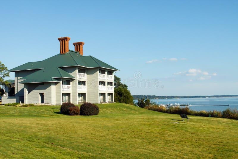 Het huis van de vakantie stock afbeelding