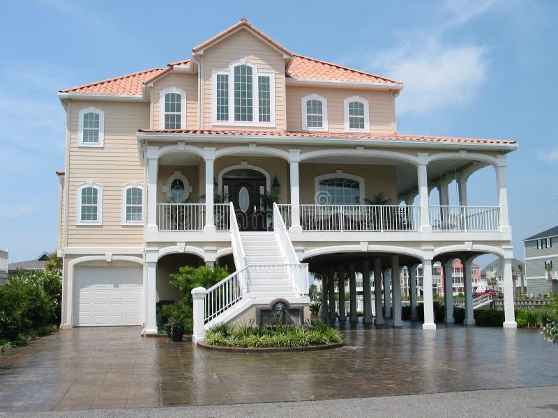 Het huis van de vakantie