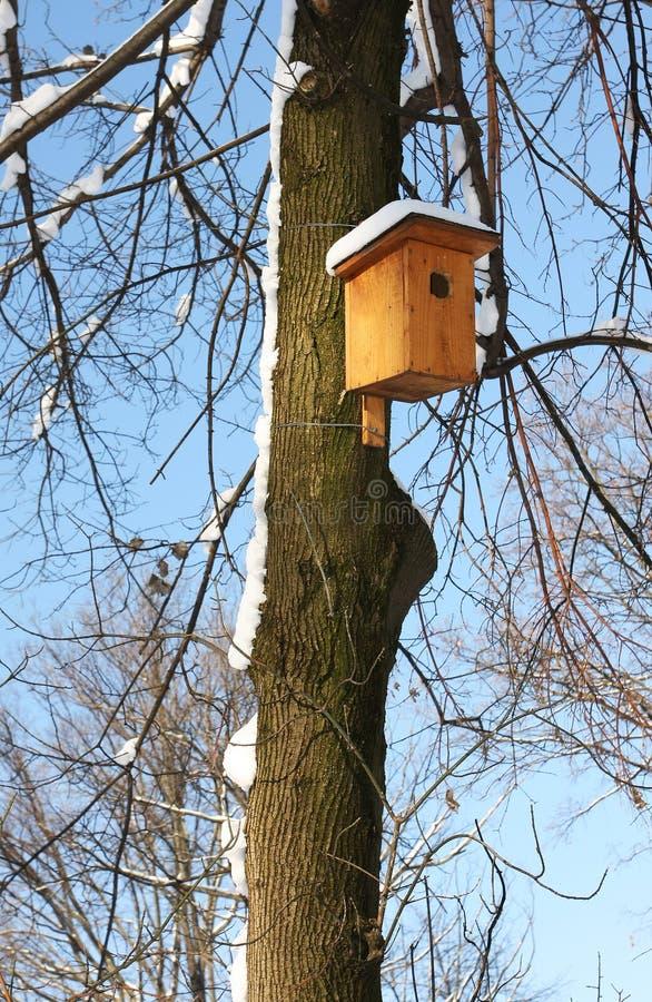 Het huis van de vogel royalty-vrije stock afbeelding