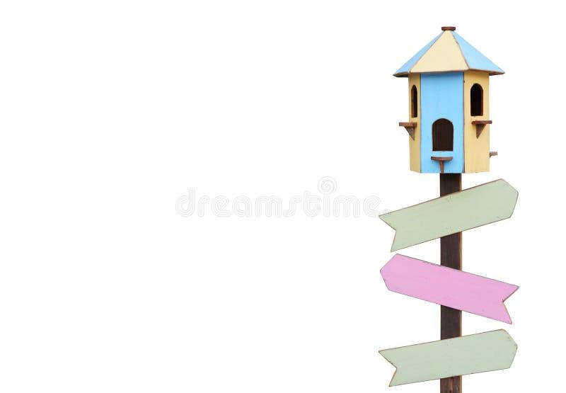 Het Huis van de vogel stock fotografie
