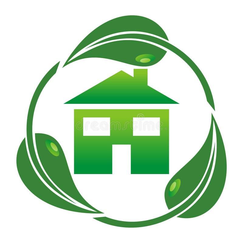 Het Huis Van Eco - Royalty-vrije Stock Afbeeldingen