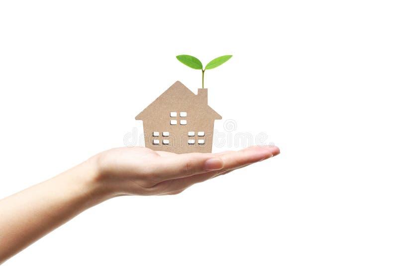 Het huis van Eco stock foto