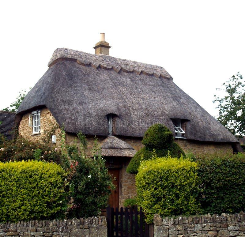 Het Huis van Engeland van het plattelandshuisje royalty-vrije stock afbeelding
