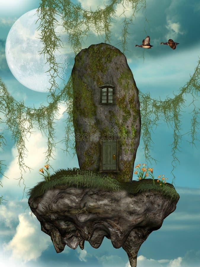 Het huis van Fairytale vector illustratie