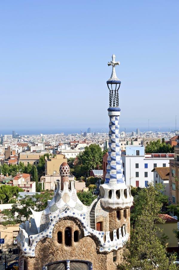 Het huis van Gaudi royalty-vrije stock foto