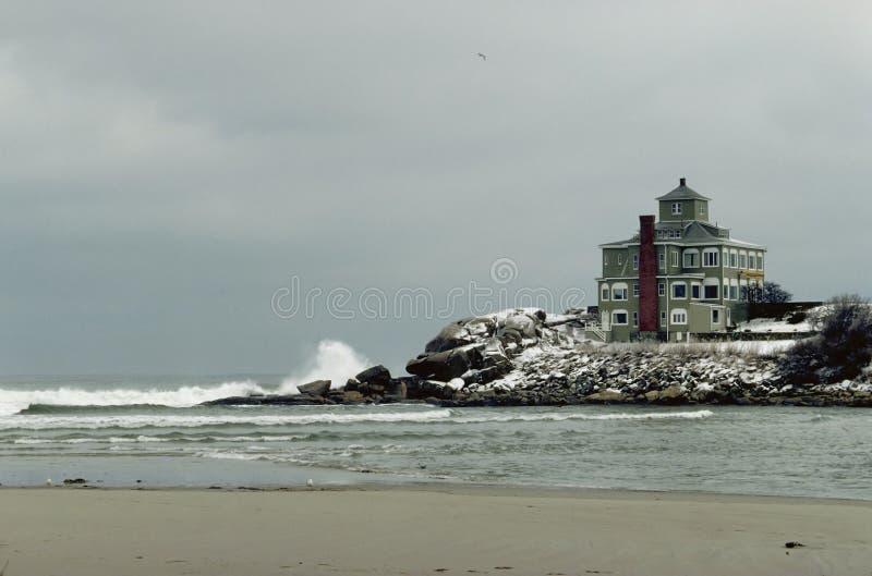 Download Het Huis van Gloster stock afbeelding. Afbeelding bestaande uit winter - 37583