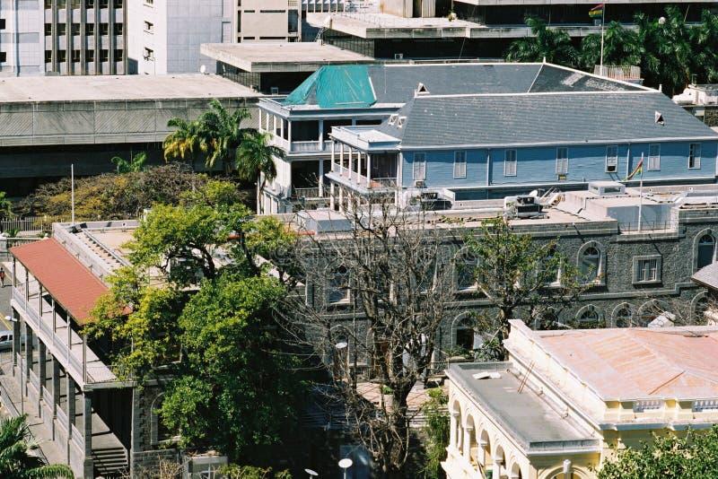 Het Huis van Governement stock foto's