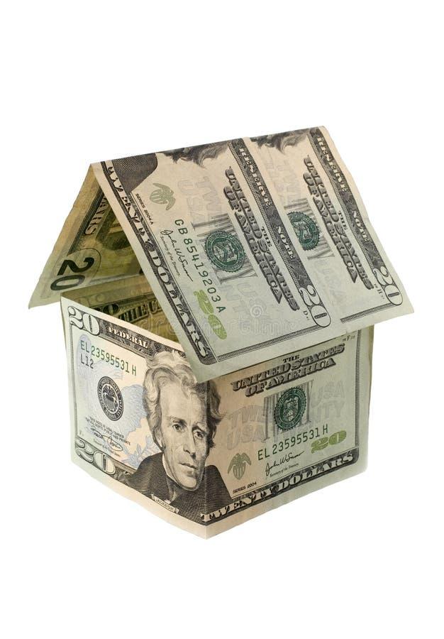 Het Huis van het contante geld. royalty-vrije stock fotografie