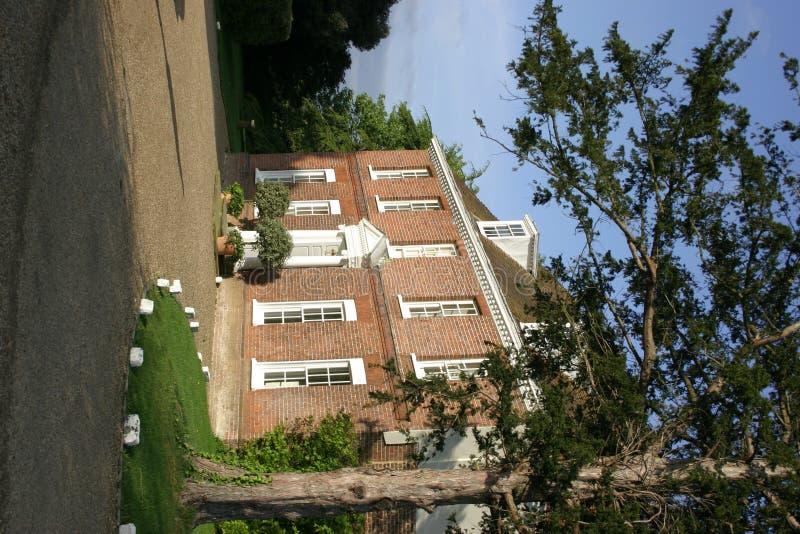 Het Huis van het herenhuis stock afbeelding